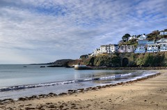 The beach at East Looe, Cornwall (Explored) (Baz Richardson (back on 26 May)) Tags: cornwall looe eastlooe sandybeaches explored