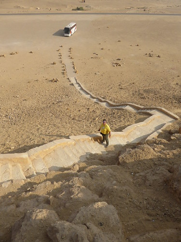 Ascending the Red Pyramid, Dahshur