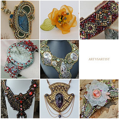 artvsartist_2018_p2 (~Gilven~) Tags: artvsartist jewelry jewelryfindingsbyannachernykh bracelet broch broche embroidery earings emblem earrings naturalleather necklace neckjewellry nouveau lion luciteflowers flowers flower fluorite black scull gold gothic goldthread ceramicface ceramiccabochon green handmade hobbit hairclip narwhal narwhals natrolite normanreedus apatite astrophyllite swarovski swarovskicrystals swarovskipearl silver athena pearl pendant pendent bigbaldhead foggyforest flashmob
