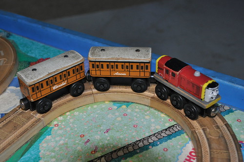Trainworld Napier - 87 () Wooden Railway Salty