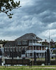 Momouth Boat Club (aka Buddy) Tags: 2018 spring monmouth boat club building storm clouds redbank nj og hdr