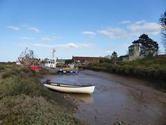 Harbour (Gilder Kate) Tags: brancasterstaithe northnorfolk quay harbour lowtide fishingvillage fishingboats panasoniclumixdmctz70 panasoniclumix panasonic lumix dmctz70 tz70