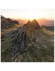 Pointy Rocks (danjh75) Tags: snowdonia sunrise rocks camping nikon leefilters nationalpark ngc golden landscape wales bright outcrop morning