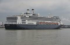 ms Rotterdam (Hugo Sluimer) Tags: cruiseship cruise cruises cruiseterminalrotterdam cruiser cruiseterminal hal hollandamerikalijn portofrotterdam port haven vlaardingen zuidholland holland nederland nlrtm onzehaven