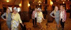 Laurette, Alyson, And Her Mom, Rebecca (Laurette Victoria) Tags: laurette woman dress hat mothersday rebecca alyson hotel milwaukee pfisterhotel