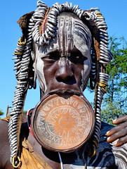 2154 - OMO RIVER ETIOPIA-2013-06 Novembre-Villaggio Pile (Etnia Mursi) (tomorme) Tags: peoples ritratto persone etiopia omoriver
