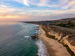 Crystal Cove State Park (meeyak) Tags: drone dji aerial flying danapoint california oc orangecounty crystalcove newportbeach lagunabeach ocean water beach usa clouds sunset daytime bluesky spring statepark statebeach mikemarshall travel vacation outdoors adventure colors mavic pro