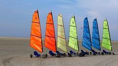 Vorfreude (sabine1955) Tags: borkum strand sommer beach strandsegeln himmel sky