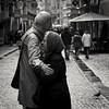 Love you... (Tom Van de Peer) Tags: leicam9 elmarit90mmf28 bw blackwhite innsbruck easter2018 goodbye love husbandandwife