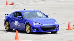 Racing BRZ  1 (R.A. Killmer) Tags: brz subaru autocross worldrallypearlblue blue gold race drive driver son fast slide cone nhscc 2018 2017 48 competition