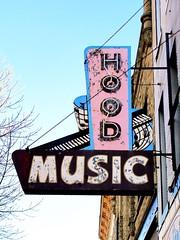 Hood Music (e r j k . a m e r j k a) Tags: indiana richmond signs music i70in erjk us27 us40