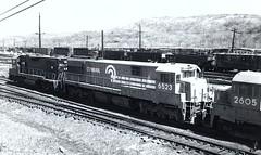 Conrail 6523 (CPShips) Tags: conrail ge u28c altoona 1978