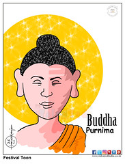 Talented India Cartoon On Budha Purnima (Talented India) Tags: talentedindia talented cartoon cartoonoftalentedindia cartoonoftalented buddhapurnima buddhajayanti