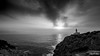 Capdepera Lighthouse (tbeltr) Tags: mallorca majorca marmediterranea mediterraneansea lighthouse lighthousesofthebalearicislands capdepera blackwhite blancinegre blancoynegro canon canoneos77d sunrise clouds nubes primavera spring eos77d illesbalears balearicislands islasbaleares