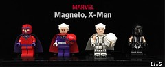Magneto, X-Men (L1n6zz) Tags: onlinesailin engineerio lego xmen marvel magneto