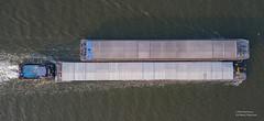 Albatros (Peet de Rouw) Tags: scheur rozenburg nieuwewaterweg scheepvaart shipping ship netherlands holland drone aerial djimavicproplatinum rotterdam portofrotterdam albatros duwboot ebs