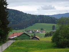 Blick nach Zell bei Oberstaufen, NGID1877013667 (naturgucker.de) Tags: ngid1877013667 naturguckerde 915119198 527330884 635437095 chorstschlüter
