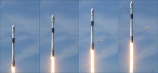 Bangabandhu1 Block5 Falcon9 by SpaceX + Bird!