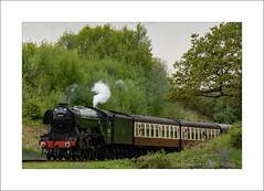 Scotsman Whistle (prendergasttony) Tags: tonyprendergast nikon d7200 countrypark railway steam lancashire bury eastlancs