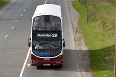858 (Callum's Buses and Stuff) Tags: sn57dfl bus buses busesedinburgh buseslothianbuses lothianbuses lothian lothianedinburghedinburgh madderandwhite madderwhite madder mader volvo babertonb9tlvolvo busesb9tl geminib9tl b9 b9tl