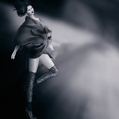 Nehemie (Shena Neox VERSUS Owner) Tags: shi boon fashion creative bw azoury sl boots dark artistic shenaneox