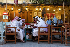 Time to break the fast (from Córdoba) Tags: doha souqwaqif ramadan qatar people streetphotography