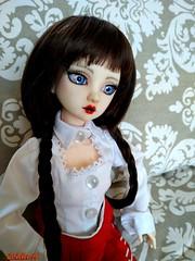 Odelia new faceup vintage (sevader.w) Tags: msd dim dimdoll odelia normalskin bjd doll