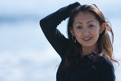 (Chris-Creations) Tags: ocean mei beach portrait people pretty chinese asian woman lady petite girl feminine femme fille attractive sweet cute beauty lovely amateur wife gorgeous beautiful glamour mujer niña guapa chica esposa женщина 女孩 女人 性感 妻子 20041230046 modeling hair smile smiling sexy alluring bokeh earring