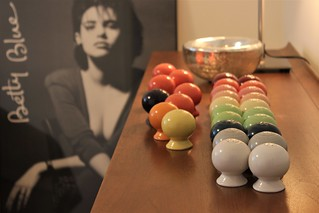 Fiestaware Salt & Pepper Shakers.