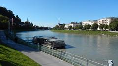 Salzburg, Kaipromenade near Makartsteg [28.08.2014] (b16aug) Tags: altstadt austria aut geo:lat=4780124722 geo:lon=1304200278 geotagged salzburg