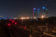 Luces de ciudad (Yorch Seif) Tags: nocturna nocturnal largaexposicion longexposure lightpainting d7500 tokina1116 ctba 4torresmadrid