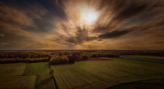 To be alone (radonracer) Tags: mavic air drone niederrhein panorama