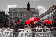 176 ~ Labour Day (Teresa Teixeira) Tags: lisbon lisboa praçaluísdecamões diadotrabalhador mayday labourday teresateixeira photojournalism fotojornalismo cnn