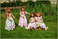 Kindergartenkinder ... (Kindergartenkinder 2018) Tags: kindergartenkinder schloss lembeck annette himstedt dolls tivi milina sanrike annemoni