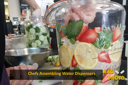 """Chefs Assembling Water Dispenser • <a style=""""font-size:0.8em;"""" href=""""http://www.flickr.com/photos/159796538@N03/28004813878/"""" target=""""_blank"""">View on Flickr</a>"""