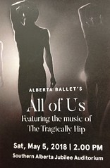 Tragically Hip .... (Mr. Happy Face - Peace :)) Tags: albertaballet tragicallyhip theatre yyc arts show dance canadianartists toronto canada art hip strangers music