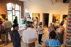 IMG_9459 (Patrick Williot) Tags: exposition vernissage ecuries sculpteur michal peintre genevieve nicolas