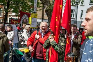 Mayday March 2018 Clerkenwell London - Traflgar Sq