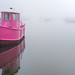 **Hamble ferry in the mist**