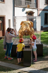 INDUSTRIEMAGNIFIQUE THURMELEC -100 (MMARCZYK) Tags: france alsace grandest 67 strasbourg art lindustrie magnifique chien sculpture place tripiers