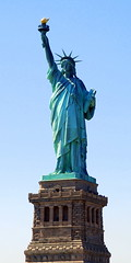 Statue of Liberty, New York City. (Roly-sisaphus) Tags: nyc thebigapple unitedstatesofamerica