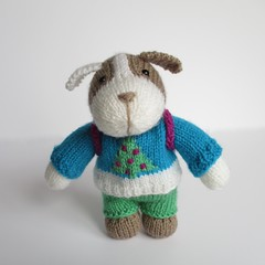 Dexter the Dog (Knitting patterns by Amanda Berry) Tags: puppy puppies dog dogs dexter knot now knit knitting knitter knitted toys toy amanda berry sweater christmas xmas festive winter