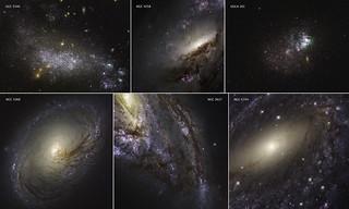 Montage of Galaxies