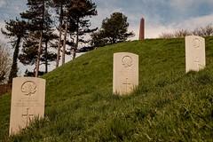 A Green Hill Far Away (geedub611) Tags: ww1 worldwar1 canadian canada graveyard cemetery wargrave headstone grave obelisk