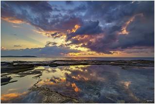Dee Why Rockpool Sunrise 1