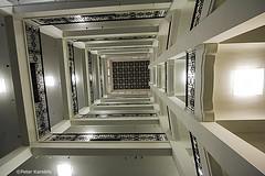 Hamburg - Handwerkskammer (peterkaroblis) Tags: hamburg treppenhaus staircase treppen stairs gebäude buildings architektur architecture innenarchitektur interieur interiorarchitecture interiordesign lines curves linesandcurves geometry geometrie