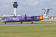 G-FLBD DHC-8Q 402 Flybe MAN 18-04-18 (PlanecrazyUK) Tags: egcc manchester man ringway manchesterairport gflbd dhc8q402 flybe 180418