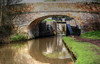 Canal bridge and lock, Birmingham and Worcester Canal (alanhitchcock49) Tags: birmingham and worcester canal near black prince boatyard bromsgrove 14 april 2018 wet reflections worcestershire stoke wharf prior pound droitwich