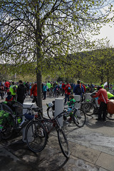 #POP2018  (157 of 230) (Philip Gillespie) Tags: pedal parliament pop pop18 pop2018 scotland edinburgh rally demonstration protest safer cycling canon 5dsr men women man woman kids children boys girls cycles bikes trikes fun feet hands heads swimming water wet urban colour red green yellow blue purple sun sky park clouds rain sunny high visibility wheels spokes police happy waving smiling road street helmets safety splash dogs people crowd group nature outdoors outside banners pool pond lake grass trees talking bike building sport