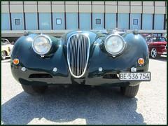 Jaguar XK 120, 1954 (v8dub) Tags: jaguar xk 120 1954 schweiz suisse switzerland bleienbach british pkw voiture roadster car wagen worldcars auto automobile automotive old oldtimer oldcar klassik classic collector